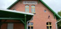 Dworzec w Szczytnie z projektantem