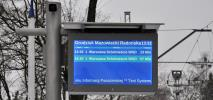 WKD uruchamia nowe tablice informacyjne na peronach