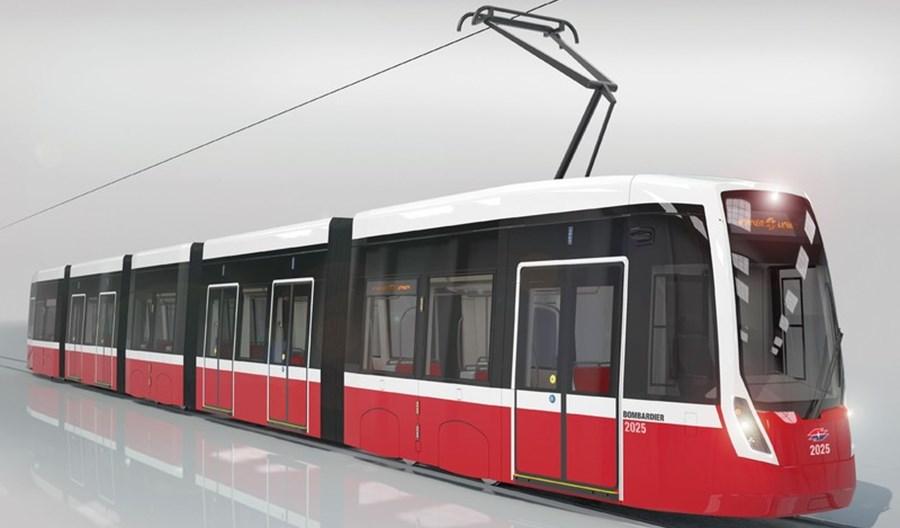 Bombardier dostarczy tramwaje dla Wiednia