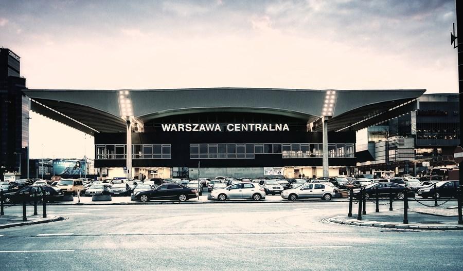Warszawa. Dworzec Centralny im. Stanisława Moniuszki?