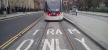 Tramwaj w Edynburgu postrachem rowerzystów