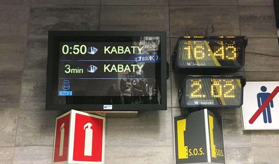 Metro: Rozbudowa informacji pasażerskiej za 1,6 mln zł
