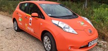 Elektryczną taksówką można już jeździć po Warszawie