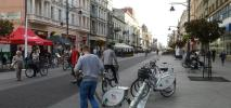 Świetne lato dla rowerów publicznych