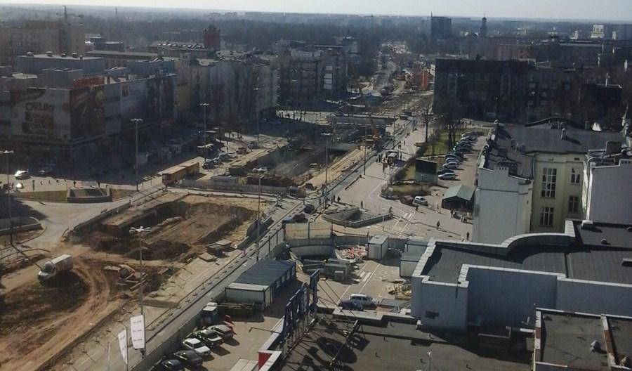 Łódź. W związku z budową trasy W-Z w centrum jeszcze trudniej