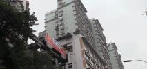 Chiny. Metro pod drzwiami mieszkania. Dosłownie