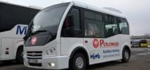 Maleńki autobus Polonusa jest całkiem wygodny