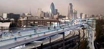 Podniebny Londyn, czyli rowerowe autostrady nad dachami
