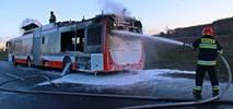 Pożar przegubowej hybrydy Solbusa dla Częstochowy
