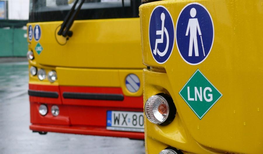 Autobusy miejskie napędzają sprzedaż gazu CNG. Wzrost o ponad 30%