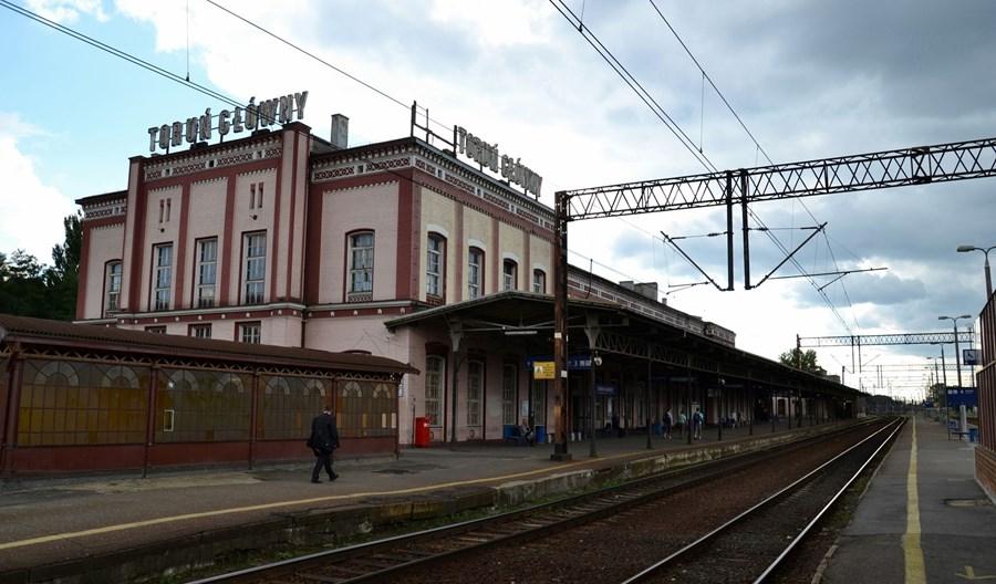 Toruń. Trwa modernizacja Dworca Głównego