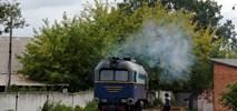 Ukraina: Ponad sto kilometrów wąskim torem