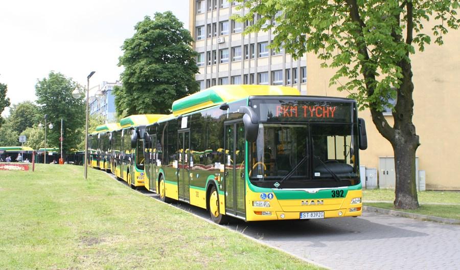 Tychy kupują 43 autobusy CNG. Po raz drugi