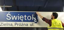 Metro: Świętokrzyska zmienia już kolory. Jeden system informacji