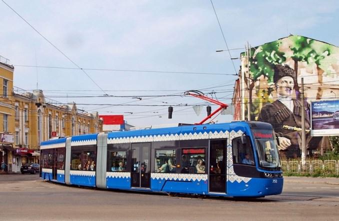 Kijowianie już jeżdżą tramwajem Pesy