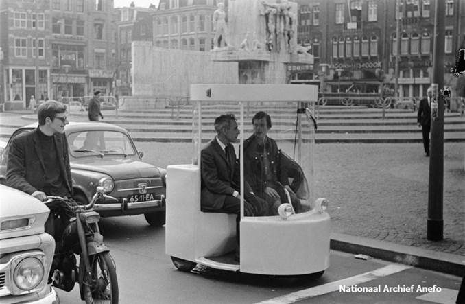 Witkar, czyli anarchistyczny pierwszy carsharing rodem z Holandii