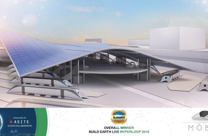 Polacy w finale konkursu na stację Hyperloop w Dubaju