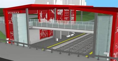 PKM prezentuje gdyńskie przystanki Karwiny i Stadion [wizualizacje]