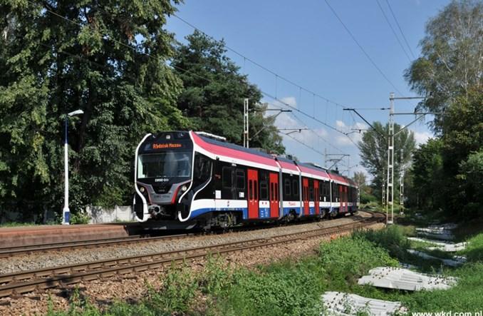 Wszystkie nowe pociągi WKD już wożą pasażerów