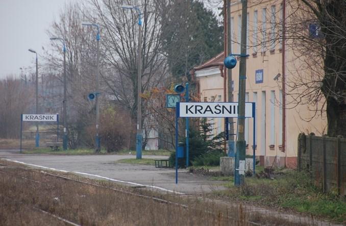 Powiat kraśnicki z planem transportowym