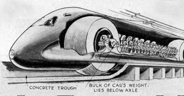 Pociąg na kulach – tajemniczy projekt z ZSRR