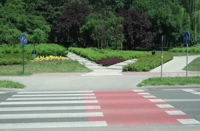 Łódź: Wyprostowanie DDR przy Drewnowskiej