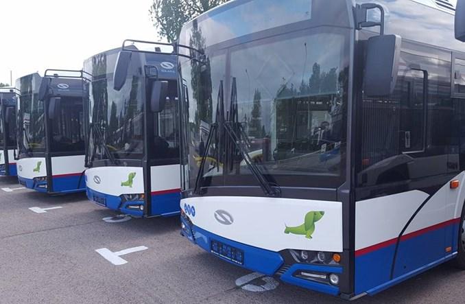 Kołobrzeg. Zaprezentowano nowe autobusy