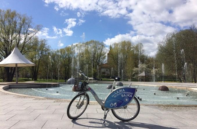 Olsztyn. W przyszłym roku powstanie rower publiczny