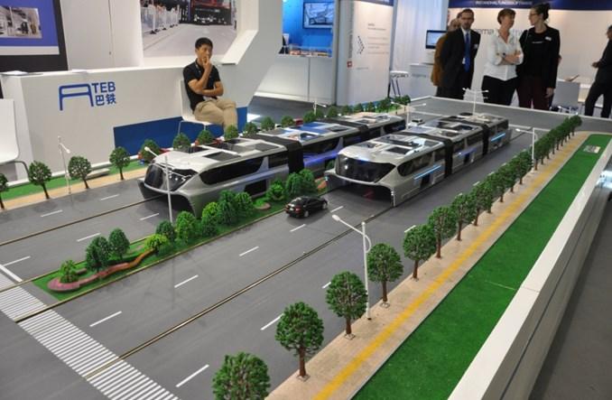 Chiny. Projekt autobusotramwaju TEB właśnie się rozsypuje