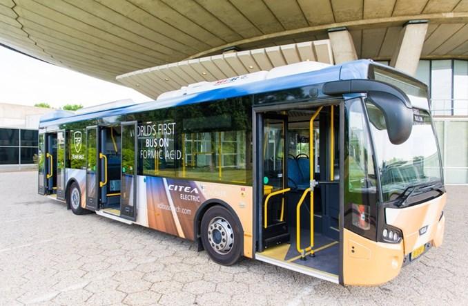 Holendrzy zbudowali autobus… na kwas mrówkowy