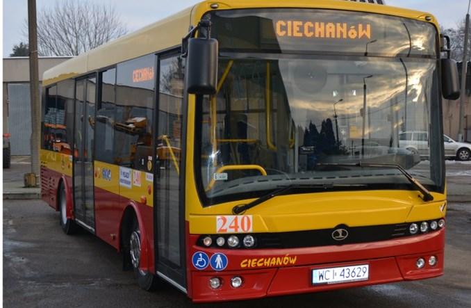 Ciechanów z ofertami na autobusy
