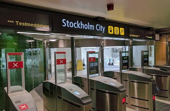 Sztokholm. Citybanan otwarty