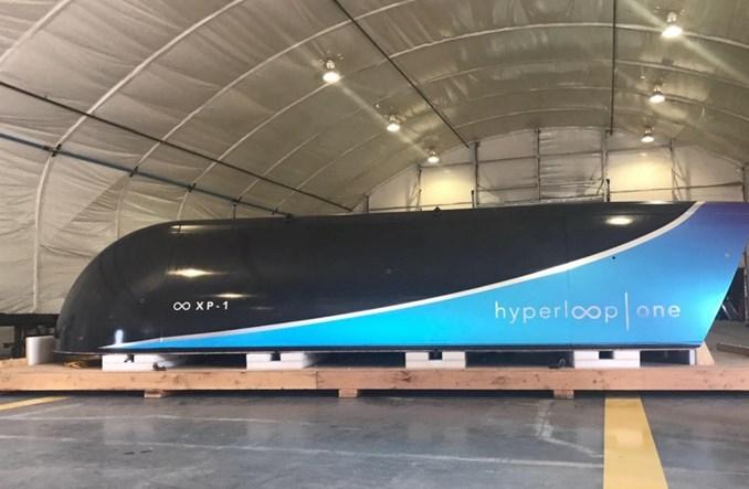 Hyperloop One po pierwszym teście w tubie. Jest też kapsuła