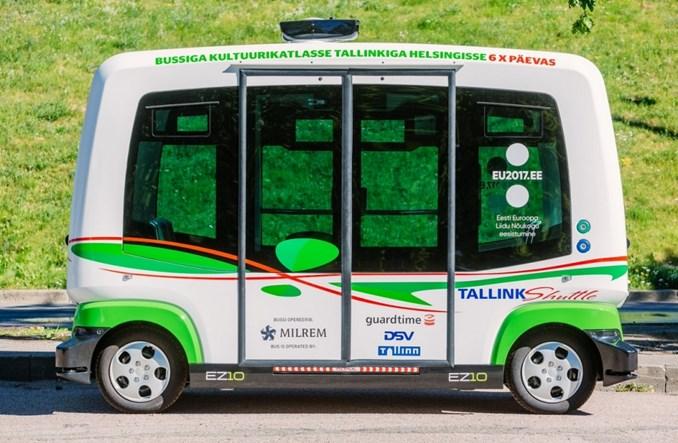 Tallinn. Autonomiczny autobus zastąpi tramwaj