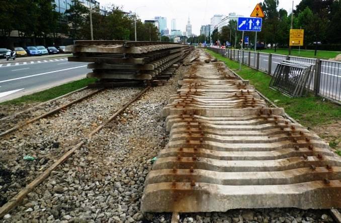Warszawa: Prosta przez dwa lata bez tramwajów w związku z metrem