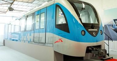 Alstom prezentuje makietę metra dla Dubaju
