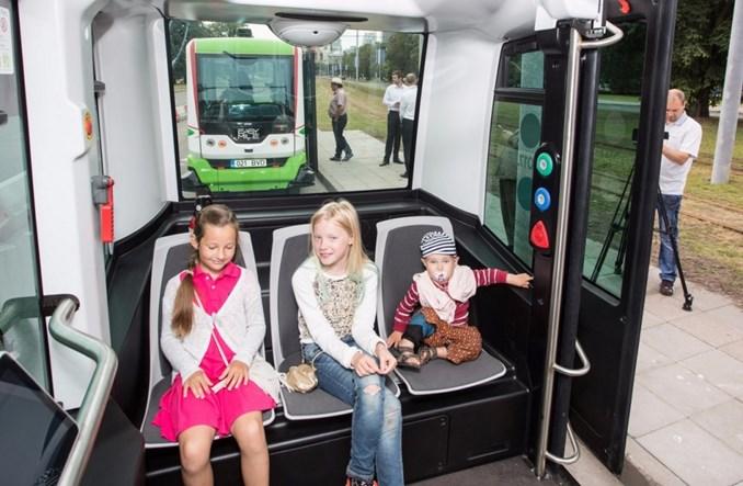 Tallinn. Autobusy bez kierowcy i (na razie) bez wypadku