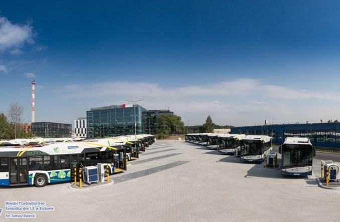Kraków: 20 elektrobusów Solarisa wchodzi do ruchu. I pierwszy przegubowiec