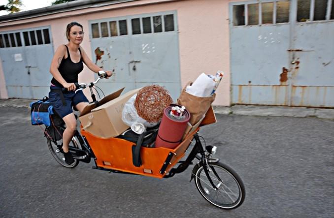 Lublin. Przeprowadzka tylko przy użyciu rowerów cargo