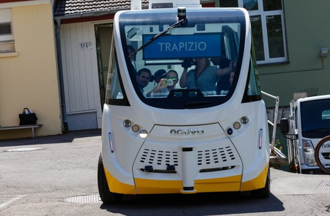 Szwajcaria. Autobus bez kierowcy będzie woził turystów