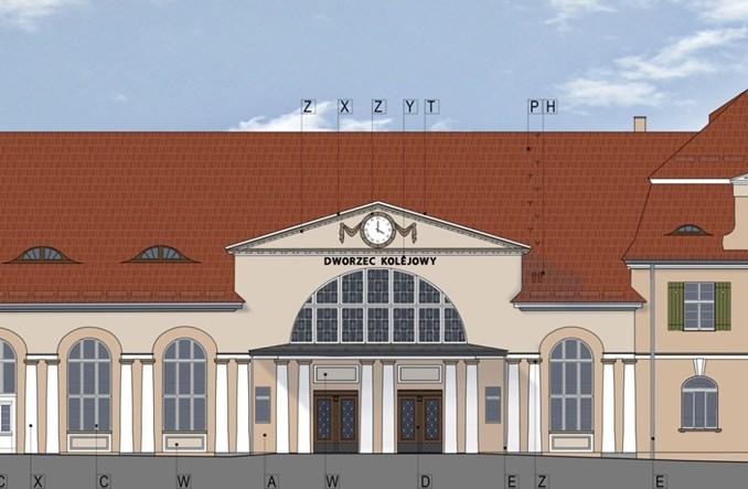 Dworzec w Żaganiu idzie do przebudowy