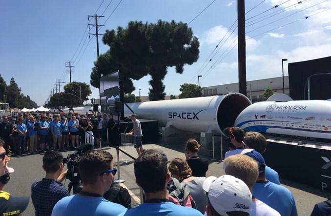 Polacy bez finału w Hyperloop Pod Competition II
