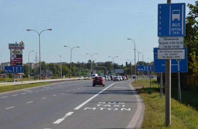 Warszawa. Nowy buspas w Alejach Jerozolimskich