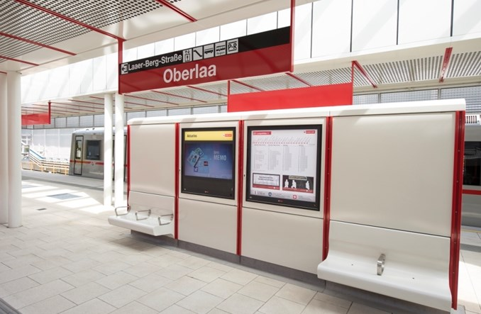 Wiedeń uruchamia przedłużenie linii metra U1