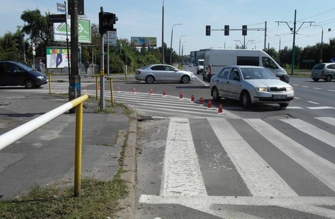 """Poznań. """"Duszki"""" na przejściach dla pieszych"""