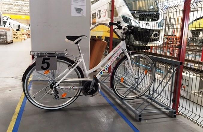 W 30-hektarowej fabryce Newagu jeździ się na rowerach