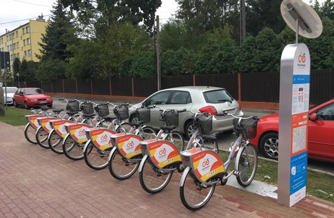 Pruszkowski Rower Miejski wystartował. 6 stacji i 48 rowerów