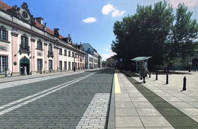 Warszawa: Rusza przebudowa Miodowej (wizualizacje)