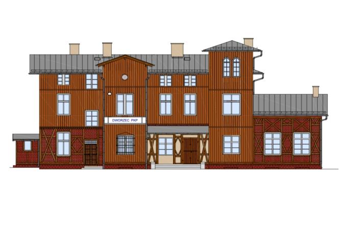 Drewniany dworzec w Wieruszowie zostanie wyremontowany, ale nie dla pasażerów