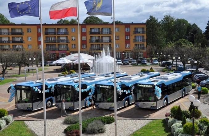 Czechowice-Dziedzice z nowymi Solarisami